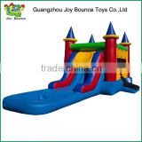 small castle with water slide inflatable air castle slide ,adult inflatable jumping castles