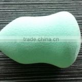 colorful cosmetic loose powder container and puff