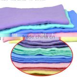 DIHAO microfiber car cleaning cloth in bulk/ New product synthetic chamois car cleaning cloth