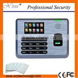 TX628 Time and attendance terminal linux system rfid card 100000 logs capacity TCP/IP 3'' Color TFT screen fingerprint reader
