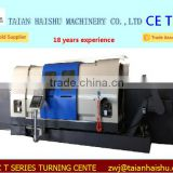 CNC450T twin-spindle doubel live tooling turret 5 axis cnc turning center machine