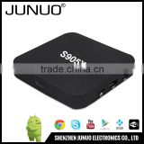 JUNUO china manufacture wholesale android smart tv set top box,android 6.0 marshmallow tv box,kodi android tv box