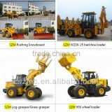 farm machinery mini garden loader zl-10 NEO 910 with changchai engine hydraulic joystick