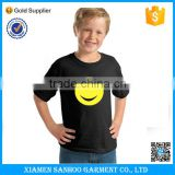 American Apparel Kid Clothes Children Black Tshirt Printing Custom Tshirt Design