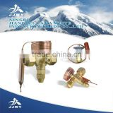 JJWY-012 Copper Refrigeration water solenoid valve for refrigeration service access Copper Access Valve filter driers