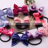 Girl Boutique PinWheel Hair Bows Kids Hair rope Bands Hair Accessories Baby hair Grosgrain Ribbon Hair Bows WITH Elastic Hoops/