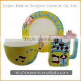 China supplier high quality ceramic dinnerware fine royal porcelain dinnerware