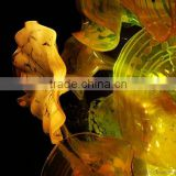 hand blown glass wall decoration XO-20150701&Murano glass chandelier from famous Chinese glass artist Mr Ou