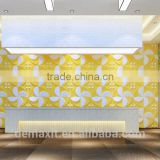 interior decoration 3-dimensional paintable bamboo wallpaper