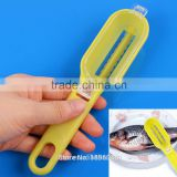 Fish Skin Graters Brush Scale Scraping Fast Remove Kitchen Gadgets Tool 2016 Hot Sale