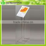 DDL-0019 Cheap Price Collapsible Acrylic Podium for Speech Draft,Folding Draft