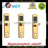 Rf card hotel lock management system 2015 strong stability Mechnical key + smart card hotel room locks