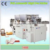 Automatic Small Food Box Making Machine with High Quality