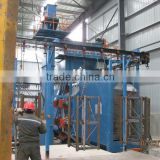 Overhead Conveyor Suspended Chain Type Shot Blasting Machine SXQ386-8 To Blast Welding Parts