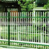 Security fence net! Decorative PVC coated zinc steel guardrail fencing/wire mesh fence (China manufacturer)