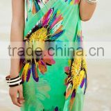Woman Dress, Printed Beach kaftan, Beachwrap, Beachwear, Swimwear, girl's fashion dress