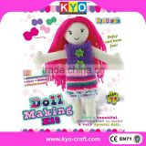 Factory supply doll making kit crochet animals toys