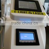 Elight laser machine for acne and other skin care problem with ND yag laser RF for weight loss