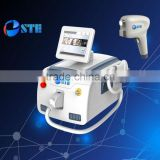2016 hot hand held hair removal beauty equipment with CE ISO FDA 808 nm diode laser permanent hair removal portable