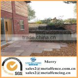 1mX1mX1m Galfan galvanized Zn welded flexible stone gabion basket for wild roof bench and steps