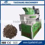 CE ISO Certificate Ring Die Forest Olive Wood Biomass Pellet Mill from Taichang with capacity 1.5-2t/h
