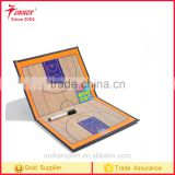 Basketball training magnetic coach board with Pen Dry Erase Clipboard Teaching tactic board coach board