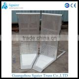 Hot Sale in North America used temporary fence/ aluminum crowd barrier/barrier stand
