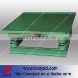 Vibrator force concrete paving brick vibration table price