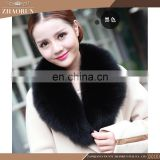 Wholesale fox fur collar , fox fur neckwear fur scarves