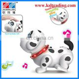 intelligent plastic electrical toy dog for kids