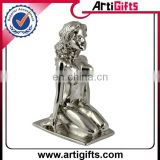 Custom 3D cast iron figurines naked figurines metal figurine