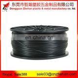1.75mm 3mm white, balck, blue, yellow, red, orange, silver, grey, purple, transparent 3D printer abs filament