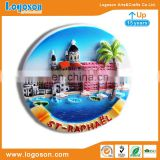 Latest Innovative Personalized Polyresin Fridge Magnets Custom Tourism Souvenirs