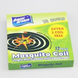 Topone 138mm Raw Material Buring Time 12 Hours Black Mosquito Coil