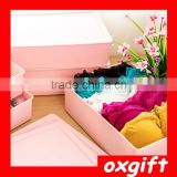 Oxgift Home essential plastic storage box bra underwear socks finishing box storage box storage box