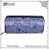 Fashion Customized cotton tribe Purse/Women Metal Frame Wallets/Lady Clutch Bag