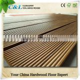 Groove Teak Outdoor Swimming Pool Timber Decking