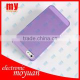wholesale Ultra thin transparent colorful case for iphone 5 accept payal/TT