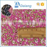 wholesale cheap beautiful cutom 100% cotton small flower border print fabric for lining fabric ins tock