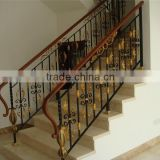 GYD-15Ba103 Elderly Indoor Iron Handrail roof deck railing