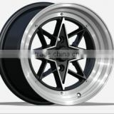 Item TL0805 15x8.0 wholesale wheel rim PCD 4x100 114.3 silver MB cast wheel fit for replica wheels