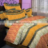printed 4pcs bedding set 100%polyester Duvet/Quilt cover bedclothes bed sheet sets for home use