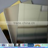 impact strength aluminum silver mirror sheet for false interior wall                                                                         Quality Choice