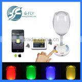 multi colors rechargeable Led 3w cup light wifi control billiard table light