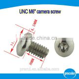 china wholesale market agents M6 tripod screw customed OEM service hidden camera screws manufactured