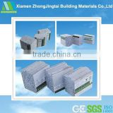 Heat resistant building material precast concrete mold wall cladding