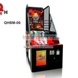 coin operated street basketball arcade game machine