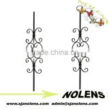 Cheap Wrought Iron Fence Panels for Sale/Decorative Wrought Iron Stairway Balusters by Factory Wholesale