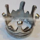 Fancy crown shape napkin ring for table