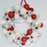 shenzhen supplie plastic Christmas wreath decoration ball Wreath